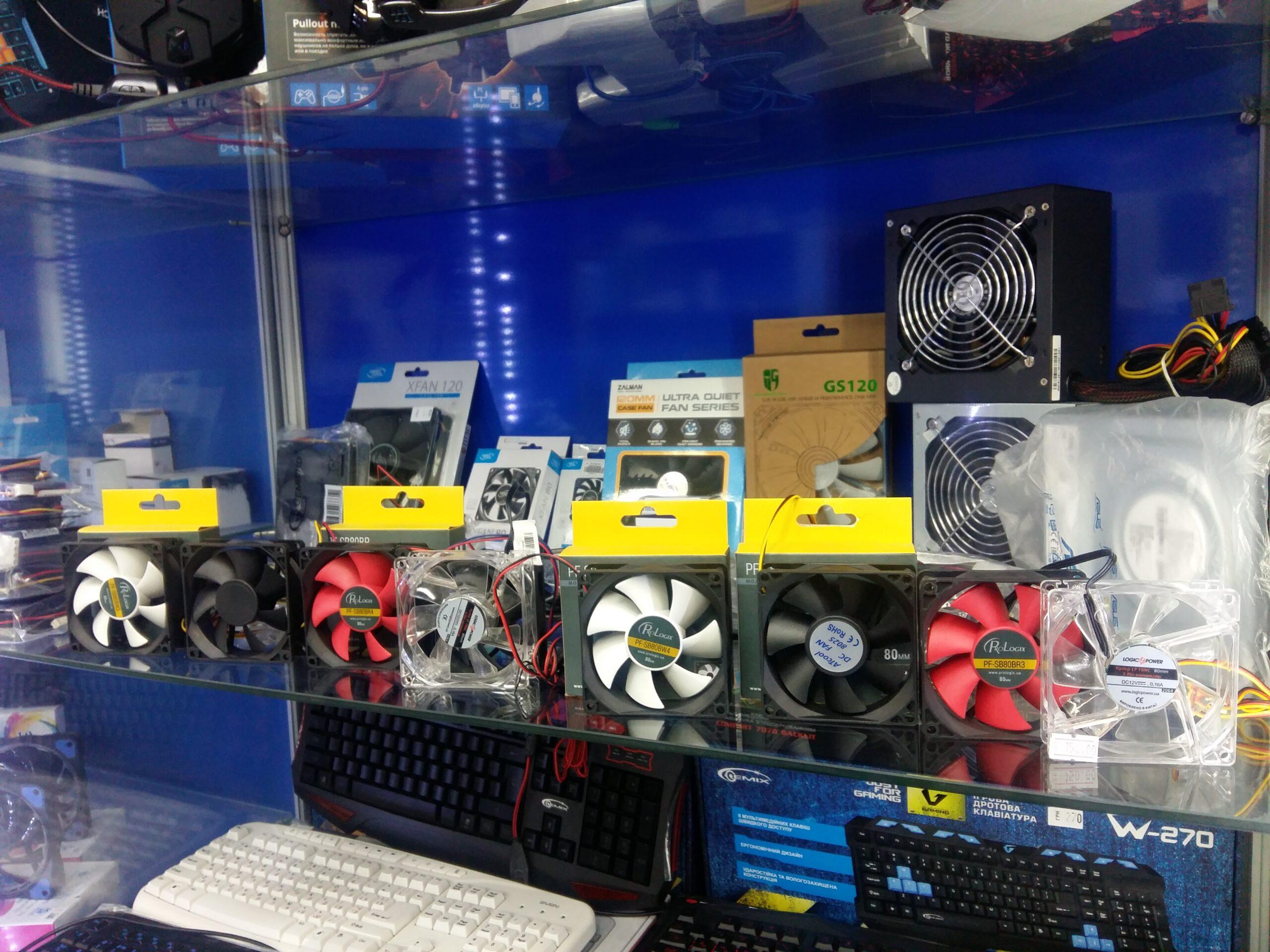 Замена вентилятора в компьютере