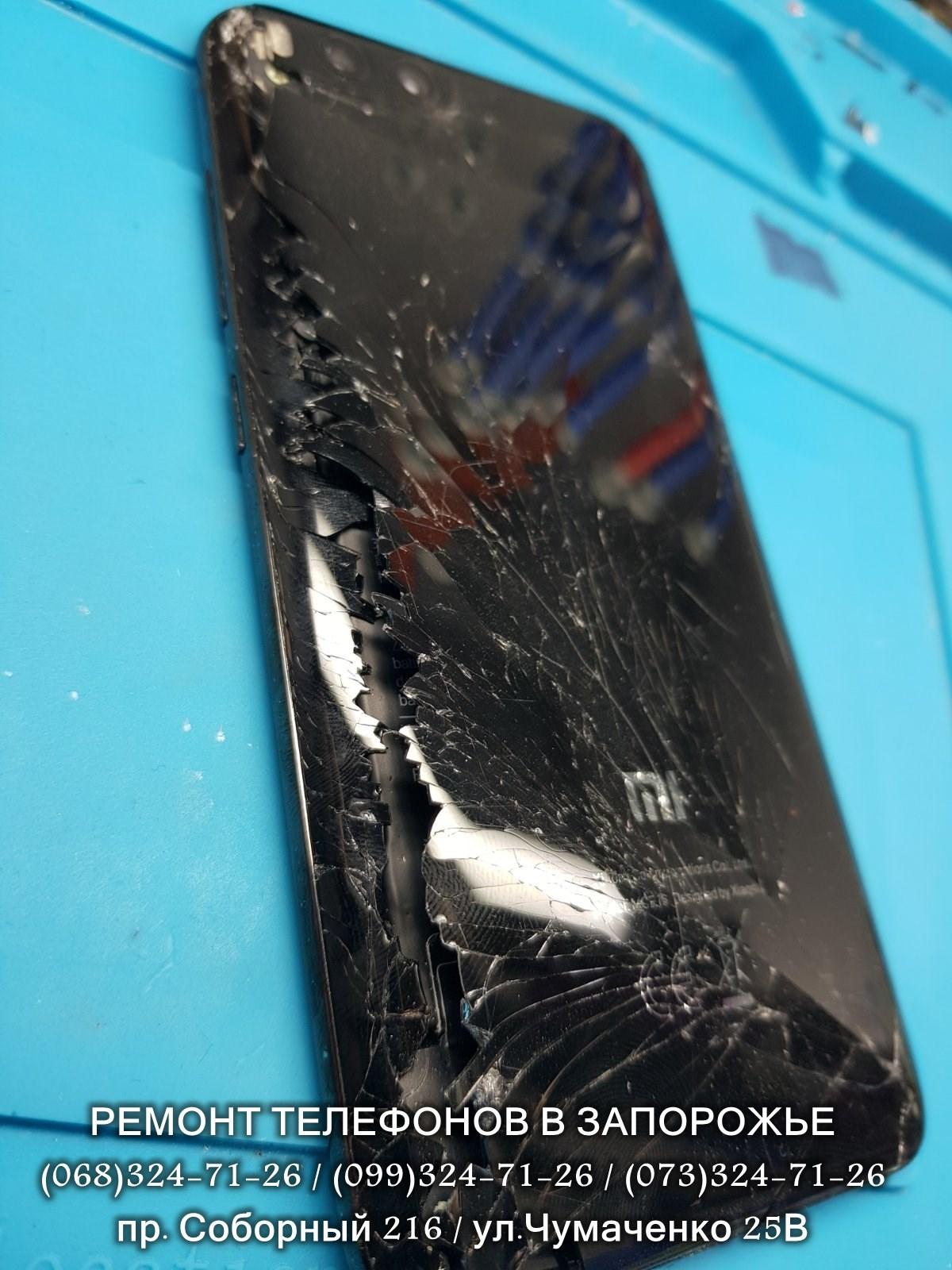 Замена задней крышки Xiaomi Mi6